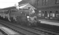 80135 with a train at Oswestry in April 1963.<br><br>[K A Gray&nbsp;02/04/1963]