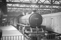 Thornton B1 no 61118 stands at Waverley platform 14 in August 1962 having brought in a train from Fife.<br><br>[R Sillitto/A Renfrew Collection (Courtesy Bruce McCartney)&nbsp;25/08/1962]