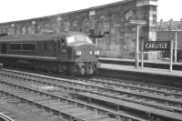 'Peak' D104 stands at Carlisle on 7 June 1962 with the up <I>Thames-Clyde Express</I>.<br><br>[K A Gray&nbsp;07/06/1962]