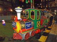 The very cute miniature railway in George Square, part of Glasgow's Christmas festivities 2011<br><br>[Beth Crawford&nbsp;19/12/2011]
