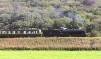 Q6 no 63395 on the bank to Goathland on 29 September 2011 with the 13.30 train to Pickering.<br><br>[Colin Miller&nbsp;29/09/2011]