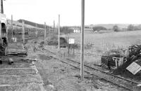 View north from the up sidings at Beattock on 18 February 1991.<br><br>[Bill Roberton&nbsp;18/02/1991]