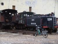 A sad picture of no 1334 <I>Simon Bolivar</I>, one of several old steam engines spotted in a Havana 'locomotive graveyard' on 9th December 2011<br><br>[Brian Smith&nbsp;09/12/2011]