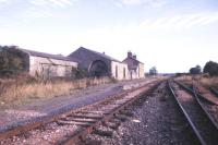 The long closed station at Kingscourt, Co Cavan, seen here in 1988. [With thanks to Messrs Hutton, Smith and Petrie] [see image 33334]<br><br>[Ian Dinmore&nbsp;//1988]