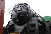 Standard class 5 no 73096 in Ropley Shed Yard on 27 December 2011.<br><br>[Peter Todd&nbsp;27/12/2011]