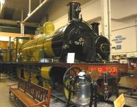 HR 103 in the Kelvin Hall Museum before its move to the Riverside. The locomotive is now separated from its tender.<br><br>[Colin Miller&nbsp;//2000]