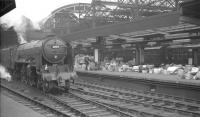 A2 Pacific no 60514 <I>Chamossaire</I> takes what might be described as <I>'the parcels avoiding line'</I> at Newcastle Central in the sixties.<br><br>[K A Gray&nbsp;//]