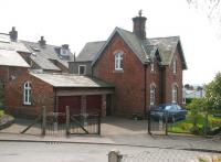 The modified former station master's house at Appleby in May 2006. The house stands directly across the road from the main station entrance.<br><br>[John Furnevel&nbsp;06/05/2006]