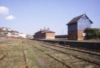 The former station at Youghal, Co Cork, in April 1994. The station lost its passenger service in 1963.<br><br>[Ian Dinmore&nbsp;12/04/1994]