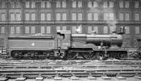 D1 4-4-0 no 31749 stands in the sidings alongside Stewarts Lane shed in the late 1950s.<br><br>[K A Gray&nbsp;//]