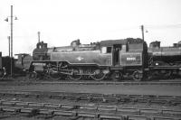BR Standard class 4 2-6-4T no 80001 photographed on 16 May 1959 in the shed yard at 66A Polmadie.<br><br>[A Snapper (Courtesy Bruce McCartney)&nbsp;16/05/1959]