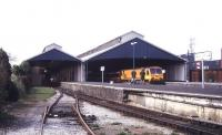 View over Limerick station in April 1996.<br><br>[Ian Dinmore&nbsp;/04/1996]