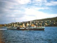 Rothesay Pier 26/09/1955