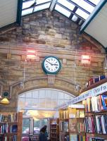 Inside the former Alnwick station, February 2012.<br><br>[Colin Alexander&nbsp;16/02/2012]