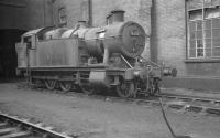 5205 on shed at Newport Ebbw Junction in October 1961.<br><br>[K A Gray&nbsp;03/10/1961]