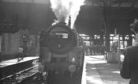 The BR 1Z74 <i>'Midland Line Centenary Special Railtour'</i> standing at Manchester Victoria on 9 June 1968 behind Britannia Pacific no 70013 <I>Oliver Cromwell</I>.<br><br>[K A Gray&nbsp;09/06/1968]