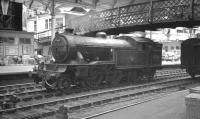 Gresley V3 2-6-2T no 67636 on empty stock duty at Newcastle Central circa 1964.<br><br>[K A Gray&nbsp;//1964]