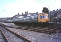 <I>The Royal Duchy</I> railtour stands at Wadebridge on 30 April 1977.<br><br>[Ian Dinmore&nbsp;30/04/1977]