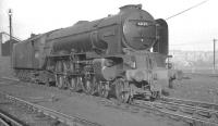 A1 Pacific no 60149 <i>Amadis</i> photographed in the shed yard at Doncaster in January 1962<br><br>[K A Gray&nbsp;07/01/1962]