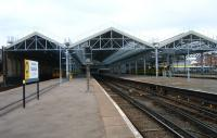 General view of Southport station in April 2012.<br><br>[Veronica Clibbery&nbsp;19/04/2012]