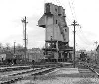 The coaling plant at Carnforth on 8th May 1977.<br><br>[Bill Jamieson&nbsp;08/05/1977]