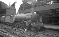 York shed's V2 no 60887 arrives at Newcastle Central on 23 June 1962 with the summer Saturday 10.25am Scarborough - Glasgow Queen Street.<br><br>[K A Gray&nbsp;23/06/1962]