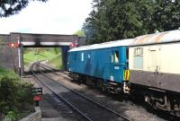Electro-diesel E6036 at Winchcombe on the Gloucestershire Warwickshire Railway on 6 May 2012 on a driver training exercise.<br><br>[Peter Todd&nbsp;06/05/2012]