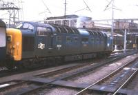 Deltic 55015 <I>Tulyar</I> leaving Kings Cross in 1981.<br><br>[Ian Dinmore&nbsp;//1981]