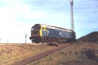 47116 photographed in November 1979 on the steeply graded connection linking Tinsley depot with the marshalling yard [see image 4747]. <br><br>[Mark Bartlett&nbsp;26/11/1979]