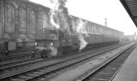 Ivatt class 2MT no 41264 on station pilot duty at Carlisle following the phase-out of the 'Jinties'. [See image 35440] Photograph thought to have been taken in the early part of 1966.<br><br>[K A Gray&nbsp;//1966]