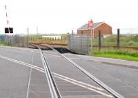 View from the level crossing of the junction of the new(ish) Battleship Wharf coal import line with the North Blyth line.<br><br>[Ewan Crawford&nbsp;02/05/2012]