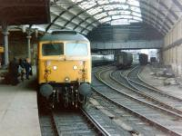 47702 awaits its departure time at Newcastle Central with an ECML service in June 1979.<br><br>[Colin Alexander&nbsp;/06/1979]