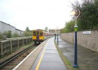 Last month of train services from North Wooolwich. A Silverlink dual voltage unit waits to leave the station for Richmond via the North London Line on 29 November 2006.<br><br>[Ian Dinmore&nbsp;29/11/2006]
