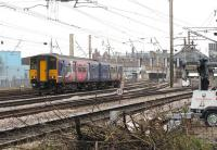 A Northern servce from Hazel Grove runs towards its ultimate destination at Preston on 12 March 2012.<br><br>[John McIntyre&nbsp;12/03/2012]
