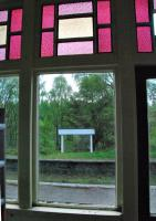 Room with a view. Looking out of Knockando's main station building on the eastbound platform to the now nameless westbound platform in May 2012. Which name will the station take once renovation is complete?<br><br>[Ewan Crawford&nbsp;24/05/2012]