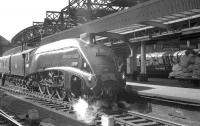 60009 <I>Union of South Africa</I> at Newcastle Central with an Edinburgh train in the 1960s.<br><br>[K A Gray&nbsp;//]