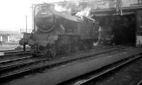 Gresley V3 2-6-2T no 67638 standing in the shed yard at 52B Heaton in 1964.<br><br>[K A Gray&nbsp;//1964]