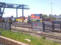 I used to have a dilemma when approaching New Street from the East: do I look at Saltley depot, or Landor Street? The demolition of Saltley has made life simpler. Freightliner locomotives 66534 'OOCL Express' and 66537 rest up between duties on 26 May 2012.<br><br>[Ken Strachan&nbsp;26/05/2012]
