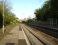 Clarbeston Road seen looking east on an extremely sunny evening in May 2012. <br><br>[David Pesterfield&nbsp;22/05/2012]