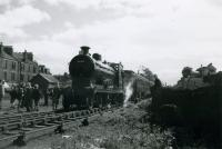 SLS Angus Tour, 20th May 1961<br><br> 54500 at Baldovan and Downfield.<br><br>[Jim Currie (Courtesy Stephenson Locomotive Society)&nbsp;20/05/1961]