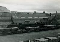 SLS Glasgow South Tour 9th June 1962<br><br> JN Connell's Yard with 57665, viewed from Calder.<br><br>[Jim Currie (Courtesy Stephenson Locomotive Society)&nbsp;09/06/1962]