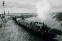 RCTS/SLS RAIL TOUR OF SCOTLAND 20th June 1962<br><br> 42277 on the Catrine Branch.<br><br>[Jim Currie (Courtesy Stephenson Locomotive Society)&nbsp;20/06/1962]