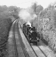 No. 790 passes Waterslack between Arnside and Silverdale on 9th May 1976. See image 38271]<br><br>[Bill Jamieson&nbsp;09/05/1976]