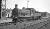 Class J36 no  65345 on shed at Bathgate on 19 October 1965.<br><br>[K A Gray&nbsp;19/10/1965]