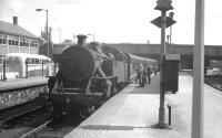 No 53 at Belfast Great Victoria Street with an up passenger train in 1965.<br><br>[K A Gray&nbsp;28/08/1965]