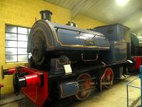 On display at the Pallot Heritage Museum, Jersey, in July 2012. W.G. Bagnall 0-4-0ST No. 2450 <I>J T Daly</I>, built in 1931.<br><br>[John Yellowlees&nbsp;/07/2012]