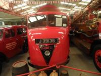 Much loved by British Railways in the 1950s and 1960s, this version of the once ubiquitous Scammell Scarab is preserved in the Pallot Heritage Museum, Jersey.<br><br>[John Yellowlees&nbsp;/07/2012]