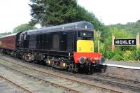 D8188 with a southbound train at Highley on 2 August 2012.<br><br>[Peter Todd&nbsp;02/08/2012]