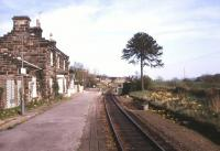 The old station at Danby on the Esk Valley line. Photographed in May 1987 looking east towards Whitby.<br><br>[Ian Dinmore&nbsp;29/05/1987]