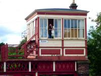 <I>'... and a bag of prawn crackers to go with that.'</I> Wylam signalman, 7 August 2012.<br><br>[John Steven&nbsp;07/08/2012]